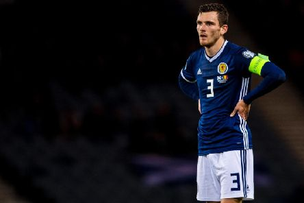 Andy Robertson has pulled out of the Scotland squad. Picture: SNS