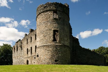 Balvenie Castle in Moray came into the Douglas family through the marriage of Archibald the Grim. It was then given to his brother James the Gross, so-called because he was so overweight. PIC: Historic Environment Scotland.