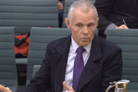 Shane Sutton, in an angry response to being questioned at the tribunal hearing, denied ordering Testogel for his personal use. Picture: PA.