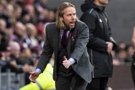 Austin MacPhee's credentials have been questioned but not by Hearts defender Michael Smith. Picture: SNS.