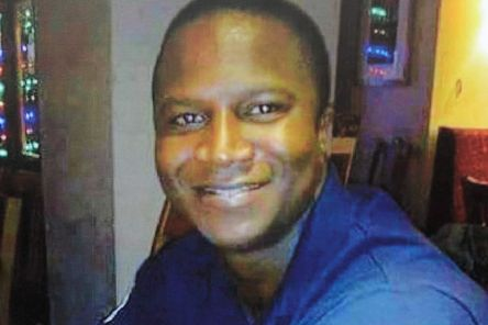 Sheku Bayoh, 31, died in 2015 after being restrained by officers responding to a call in Kirkcaldy (Picture via SWNS)