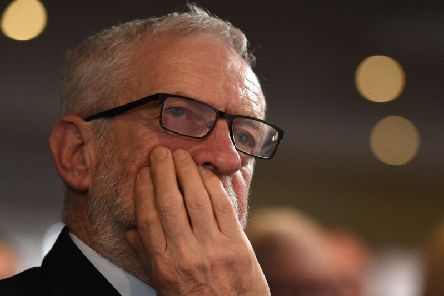 Minister Richard Cameron launched a verbal attack at Labour leader Jeremy Corbyn. Picture: AFP