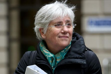 Former Catalan Minister Clara Ponsati. Picture: PA
