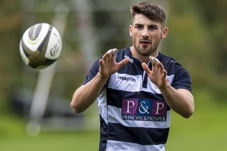 Charlie Shiel will make his first professional start for Edinburgh in the European Challenge Cup tie against Agen. Picture: Alan Harvey/SNS/SRU