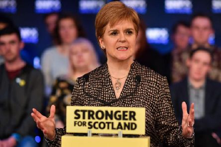 Nicola Sturgeon has not been invited to ITV's first General Election debate (Getty Images)