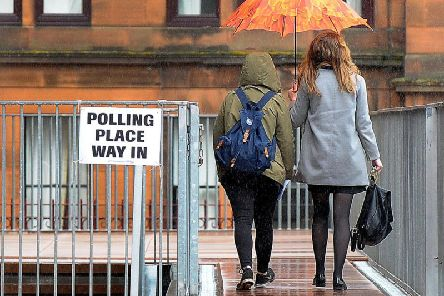 Scotland and the rest of the UK will go to the polls on December 12 (Getty Images)