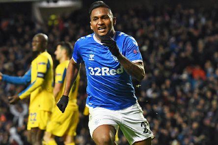 Alfredo Morelos has scored 11 goals in Europe so far this season, just one behind Henrik Larsson's 2002-03 tally. Pictuer: Alan Harvey/SNS