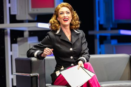 Laura Tyrer in 9 to 5 PIC: Andrew Ross