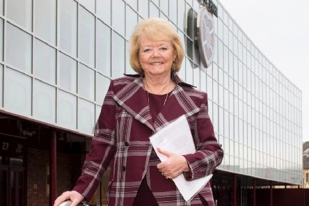 Hearts owner Ann Budge is pleased with the club's latest financial figures.