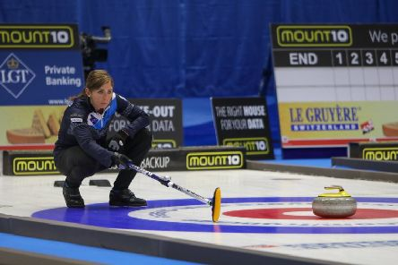 Scotland skip Eve Muirhead enjoyed at winning start in Helsingborg at the Le Gruy�re AOP European Curling Championships. Picture: Richard Gray/� WCF