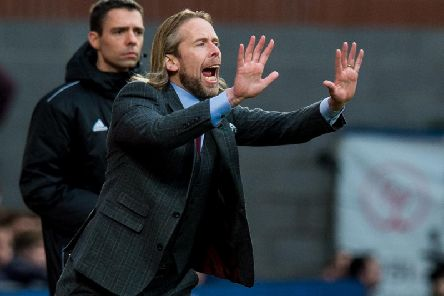 Austin MacPhee could be in charge of Hearts for a prolonged period, according to reports. Picture: SNS