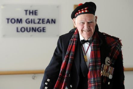 The funeral of Tom Gilzean will take place on Tuesday
