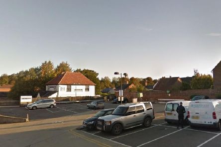 The man robbed the woman in a Waitrose car park. Picture: Google