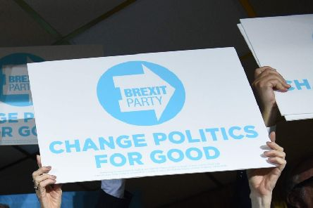 The Brexit Party said it would no long support Victor Robert Farrell's campaign
