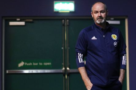 Steve Clarke decided not to invoke Fifa's 'five-day' rule this time  but he insists he will be no shrinking violet in any situation where he feels he needs to be tough. Picture: Getty.
