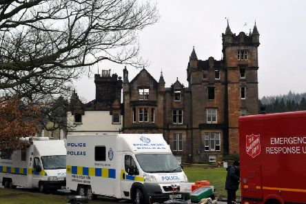 A major report on the Cameron House hotel fire has been submitted to the Crown Office as part of the ongoing investigations into the fatal blaze. Picture: SWNS