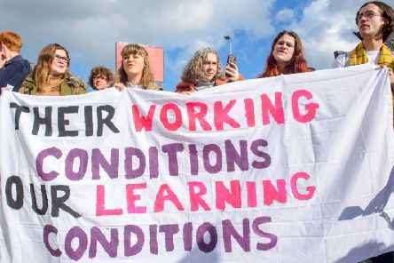 Up to 43,000 members of the University and College Union (UCU) at 60 UK universities will walk out from next Monday, disrupting lectures in the run up to the Christmas break