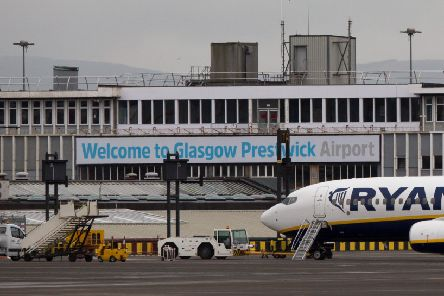 Ryanair is Prestwick's sole passenger airline. Picture: Robert Perry/Getty Images