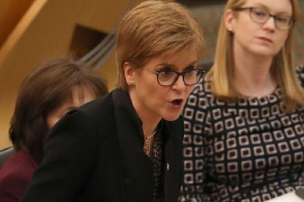 """The First Minister has confirmed she would not use """"immoral"""" nuclear weapons in a rebuke to Liberal Democrat leader Jo Swinson."""