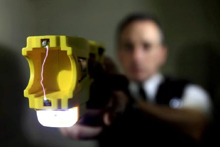 Police Scotland announced plans to train and equip more officers with tasers in December 2017