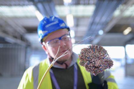 Fibre is far superior to copper and enables 5G connectivity, says Duffy. Picture: Monty Rakusen