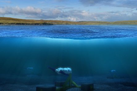 Nova Innovations turbines sit on the seabed and generate power from the tides. Picture: Contributed