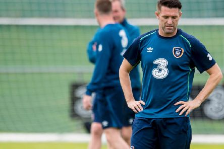 Former Celtic striker Robbie Keane. Picture: SNS