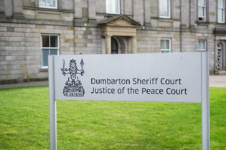 The man appeared at Dumbarton Sheriff Court.