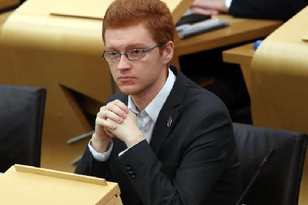 Green MSP Ross Greer raised the issue at First Minister's Questions at Holyrood