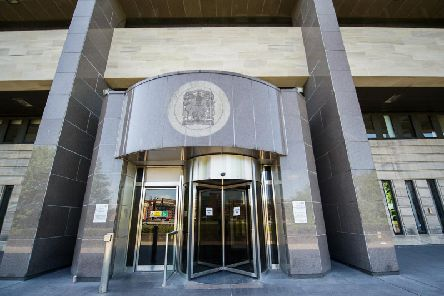 The man has appeared in private at the Glasgow sheriff court charged with the murder