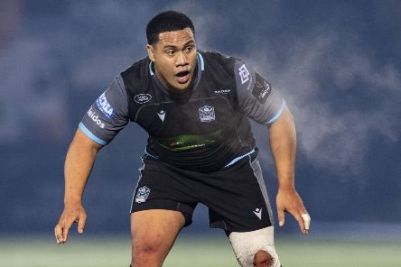 Aki Seiuli made his Glasgow debut during the Guinness Pro14 match against Leinster. Picture: Ross Parker/SNS/SRU