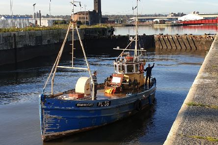 Manx Beauty is due to return to the East Neuk to be restored after operating out of Scottish ports before being based down south