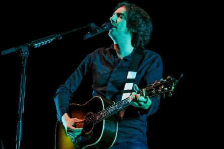 Gary Lightbody of 'Snow Patrol was in reminiscent mood, with 25 years of the band behind him. Picture:   Graham Harries/Shutterstock