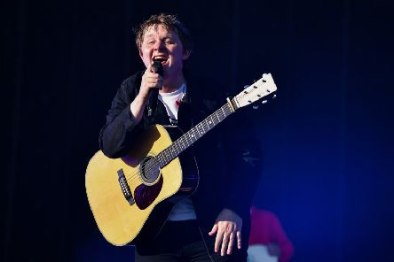 Lewis Capaldi PIC: Jeff J Mitchell/Getty Images