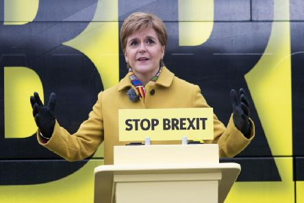 With less than a week until the election, the First Minister insisted that Scotland is one of the wealthiest countries and in the world and independence would see itcapitalise on this. Picture PA