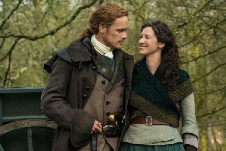 Jamie Fraser (Sam Heughan) and Claire Fraser( Caitriona Balfe) will return in season five. (Picture: Starz)