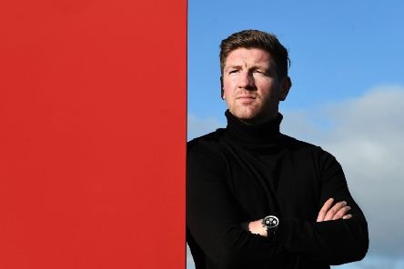 Mark Wilson's Brechin City side, currently bottom of League Two, take on Stirling Albion this weekend. He says avoiding Scottish football's 'trapdoor' is always in his thoughts. Picture: John Devlin