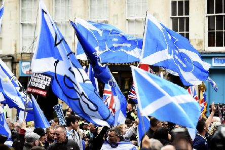 A new poll predicts that a majority of Scots would vote to leave the UK if Brexit goes ahead - but the opposite would be true if Britain sticks with the EU. Picture: TSPL