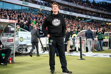 Daniel Stendel during his stint as Hannover 96 boss