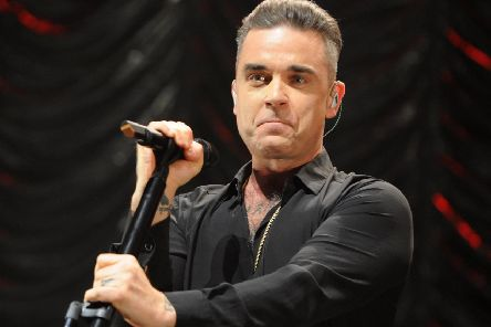 Robbie Williams PIC: Shirlaine Forrest/Getty Images
