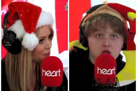 Lewis Capaldi revealed to Amanda Holden he had unsuccesfully auditioned for Britain's Got Talent. Picture: Heart