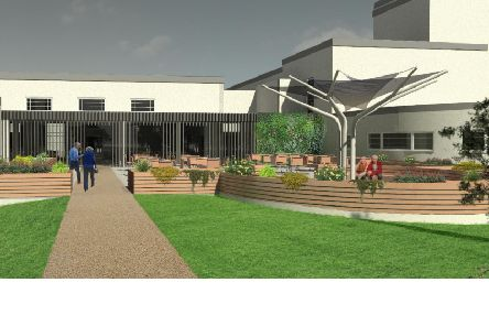 How the extra care complex being planned at the old Kelso high school will look.