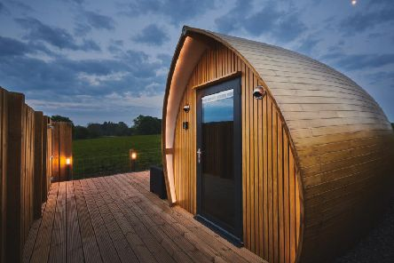 Armadilla pods are highly insulated and environmentally friendly. Picture: Luxury Hideaways