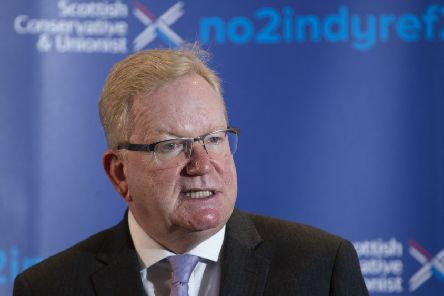 Jackson Carlaw pledged his party would not let down its supporters who were opposed to IndyRef2. Picture: PA
