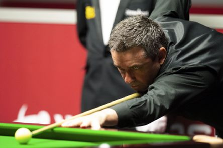 Scotland's Alan McManus is through to the second round of his home event after beating China's Zhao Xintong 4-1. Picture: Ross Parker/SNS