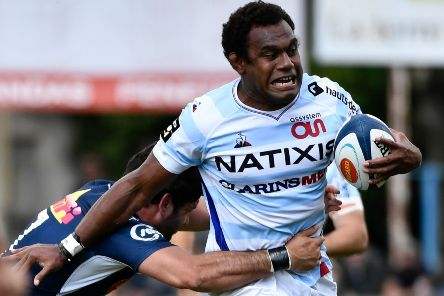 Free agent Leone Nakarawa could rejoin Glasgow after Racing 92 ripped up his contract because of breaches of club discipline. Picture: Thierry Breton/AFP via Getty Images