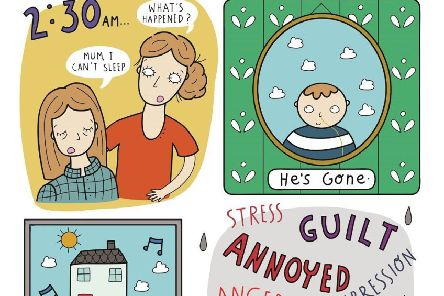 A comic is helping young people cope with grief