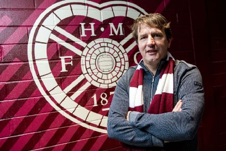 Daniel Stendel is unveiled as the new Hearts manager at Tynecastle. Picture: Craig Williamson / SNS
