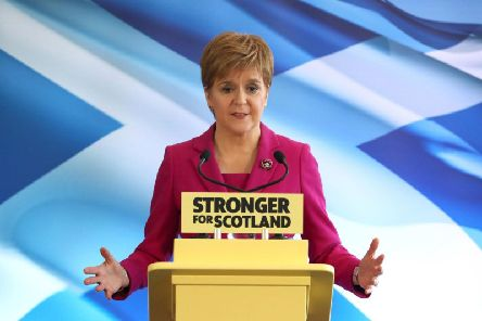 Nicola Sturgeon has guided the SNP through a third general election in five years. Picture: PA