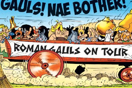 A trio of Asterix and Tintin books have been translated into Gaelic and Scots. Picture: Contributed